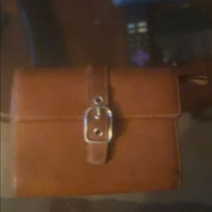 Auth coach brown wallet